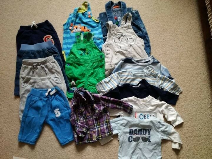 Boys winter clothes bundle - 3-6 months