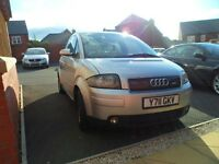 Audi A2 1.4 Tdi Diesel 2001 only £30 A year to Tax