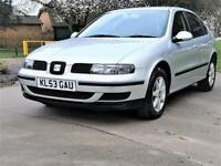 2003 Seat Leon 1.6 --- Part Exchange Welcome --- Drives Good