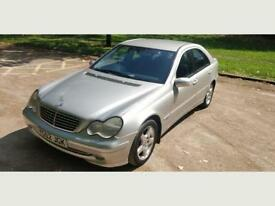 2002 Mercedes-Benz C Class 2.6 Automatic Petrol Clean Car 1Yr MOT 1Yr Warranty