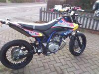 Yamaha wr125x 2013