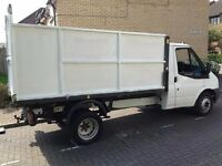 tipper for rubbish removal