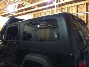 Hard Top: Jeep TJ Unlimited aka LJ- Just the Hard top