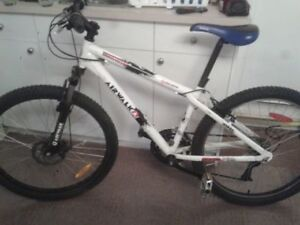 Airwalk mountain bike with extra wide tires, front shocks