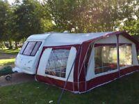 Walker esprit caravan awning 18ft 930-960cm