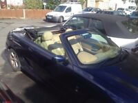 MG TF 135 Ps 1.8 petrol manual Convertible 2003 Blue 79000 miles 1150 £