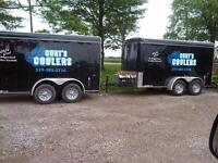 Cooler Trailer/ Electric Refrigerated Rentals w/ Draft Option