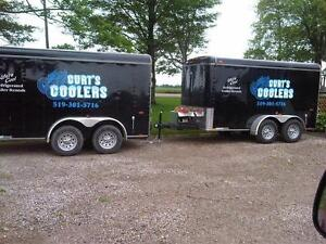 Cooler Trailer/ Electric Refrigerated Rentals w/ Draft Option Kitchener / Waterloo Kitchener Area image 2