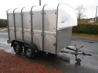 IFOR WILLIAMS TA510 LIVESTOCK WITH SHEEP DECKS TIDY WELL SORTED MAIN DEALER PX TRAILER