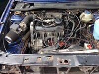 vVw Golf Mk2 1.8 Gti digitfant engine and gearbox