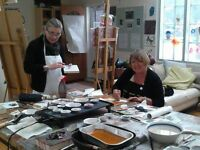 Art classes in Simcoe Ontario $10 off if you take three classes