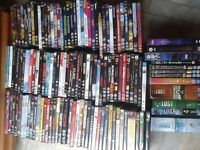 over 180 dvds
