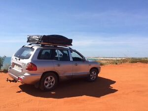 Hyundai Santa Fe 4WD + Roof top tent & camping gear Broome Broome City Preview