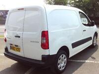 Peugeot Partner L1 850 S 1.6 HDI 90BHP VAN DIESEL MANUAL WHITE (2013)