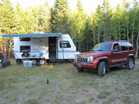 ROCKWOOD ULTRA LIGHT 21 FT TO TRADE WITH A BIGGER TRAILER