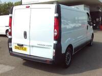 Vauxhall Vivaro LWB 2.0CDTI 115PS 2.9T VAN DIESEL MANUAL WHITE (2013)