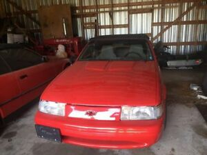 1993 Chevrolet cavalier convertible car