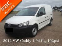 2012 VW Caddy 1.9 Tdi 102psi