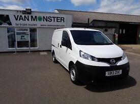 Nissan Nv200 1.5 DCI 89BHP Van DIESEL MANUAL WHITE (2013)