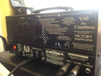 Victory V30 Countess Valve Amp Head - hand built in the UK by ex Cornford designer Martin Kidd