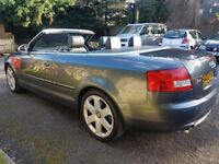 Audi S4 Cabriolet, 3 owners, low mileage... a stunning car.