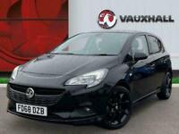 2019 Vauxhall Corsa 1.4i Ecotec Sri Vx Line Nav Black Hatchback 5dr Petrol 90 Ps