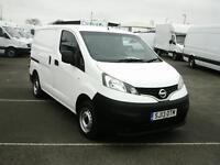 Nissan Nv200 1.5 DCI SE 89BHP VAN DIESEL MANUAL WHITE (2013)