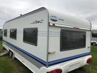HOBBY PRESTIGE 5berth tourer caravan