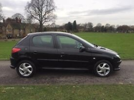 2006 Peugeot 206 Manual 5Doors With Long MOT PX Welcome