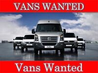 VANS WANTED FOR CASH All makes and models Nutts Corner