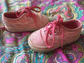 Hello Kitty Vans Trainers Baby/Kids Size 4!