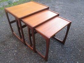 Retro G Plan Teak Nest of Tables