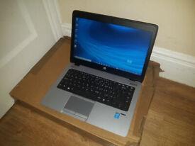 """HP EliteBook 840 14.1"""" HD LAPTOP, FAST CORE i5 2x 2.90GHz, 8GB, 256SSD, WIFI, WEBCAM, BLUETOOTH"""