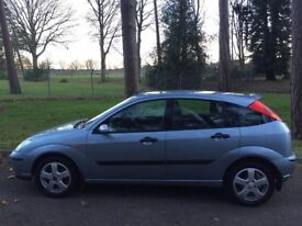 2004 Ford Focus 1.8 Diesel Manual 5Doors With Long MOT PX Welcome
