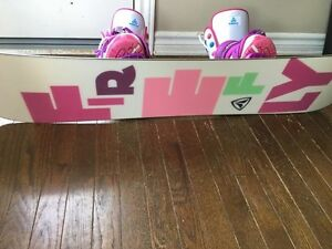 Full Snowboard set mint condition