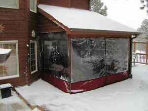 Deluxe Clear Vinyl Porch/Patio Enclosure Gatineau Ottawa / Gatineau Area image 6