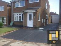 EAST MIDLANDS PAVING Loughborough, Leicester , Coalville Tarmac Driveways block paving patio's etc