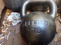Eleiko 18kg Cast Iron Kettlebell