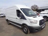 Ford Transit 2.2 Tdci 125Ps L3 H3 Van DIESEL MANUAL WHITE (2015)