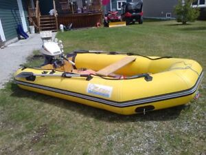 10 Foot Zebec Rubber Raft
