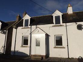 Unfurnished two bed property - Rockfield, Portmahomack - £500pcm