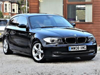£30 Tax -- 2008 BMW 1 Series 118 d SE Diesel-- CREAM LEATHER -- MOT March 2019 - alike bmw 116 120