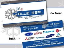 BLUE SEAL AIR-CONDITIONING Sydney City Inner Sydney Preview