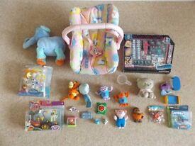 Girls' Toys Job Lot Bundle My Little Pony Smurfs