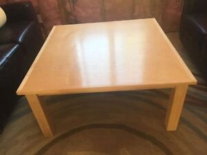 COMOX: Solid Maple Table (coffee table height)