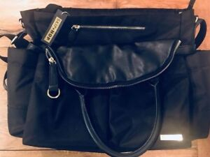 Skip Hop Chelsea Downtown Black/Gold Diaper bag