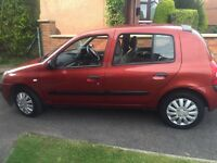 2005 RENAULT CLIO 1.2 FOUR DOOR