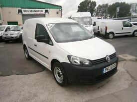 Volkswagen Caddy 1.6TDI 102ps Van DIESEL MANUAL WHITE (2013)