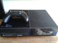 Xbox One 500GB plus one wireless pad