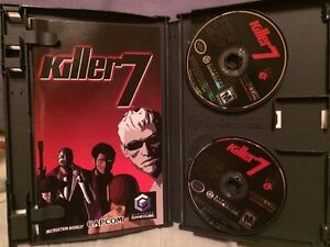 killer 7 nintendo gamecube complete game cube tested working